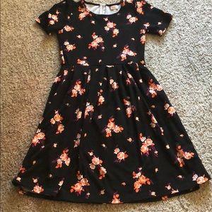 Lularoe Amelia Dress Size Large